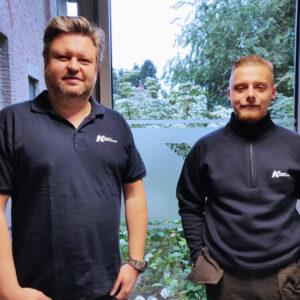 Timothy Boehlen en Quinten Snoeckx